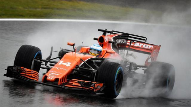 """Alonso: """"En la primera sesión intentamos probar diferentes cosas"""""""