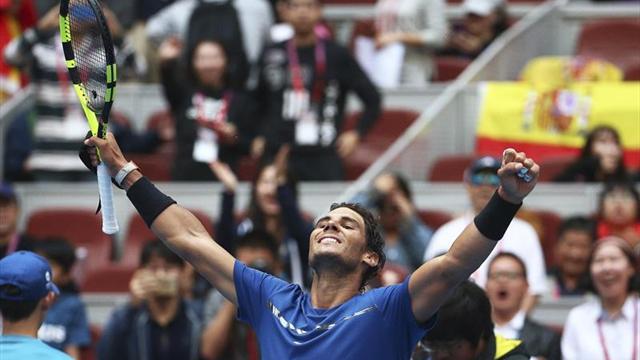 Nadal sobrevive el bombardeo de Isner y alcanza las semifinales en Pekín