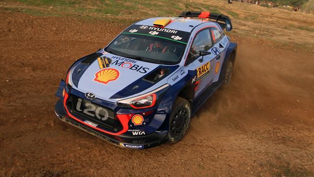 Mikkelsen takes early lead on Hyundai debut