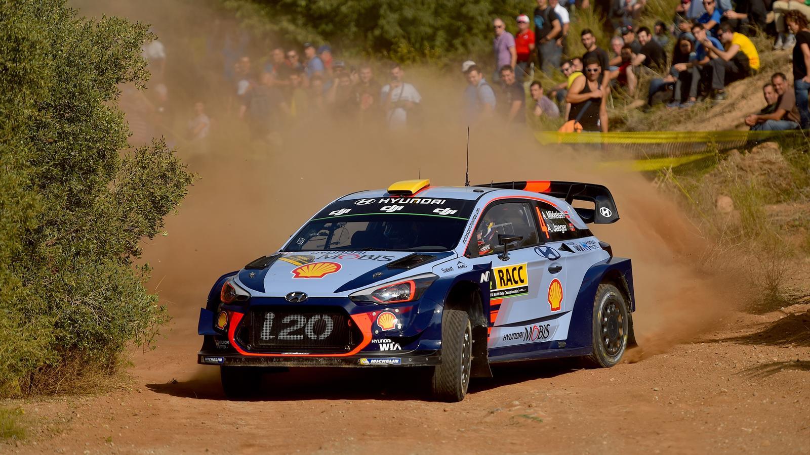 Rallye espagne 2018