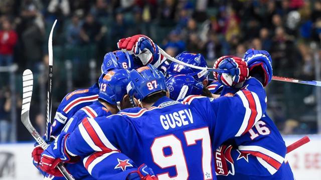 СКА выиграл 19-й матч подряд и побил рекорд КХЛ