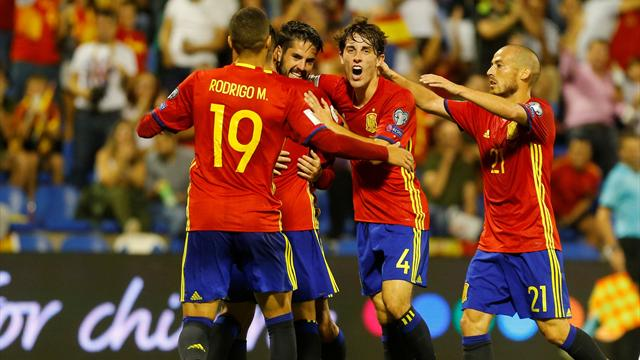 Spain qualify for World Cup with comfortable Albania win