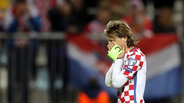 Croatia lose qualification top spot after 1-1 draw with Finland