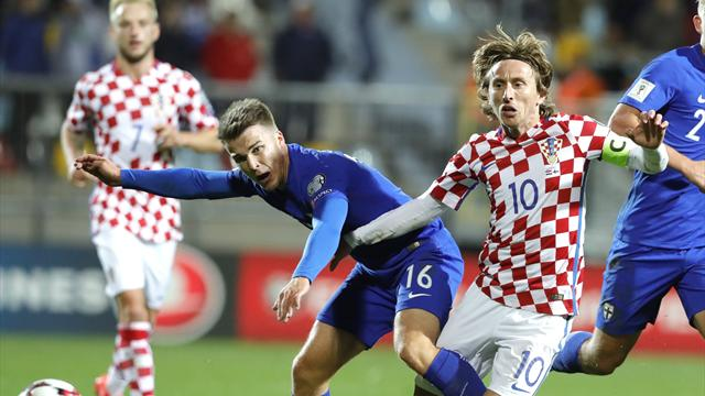 Croacia e Italia se evitan en la repesca para el Mundial 2018