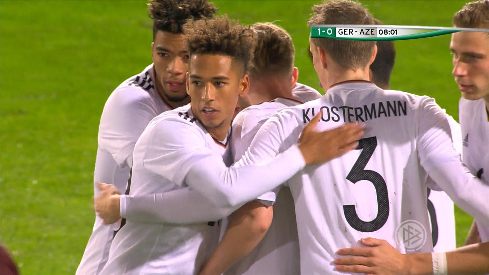 Deutschland Aserbaidschan U21