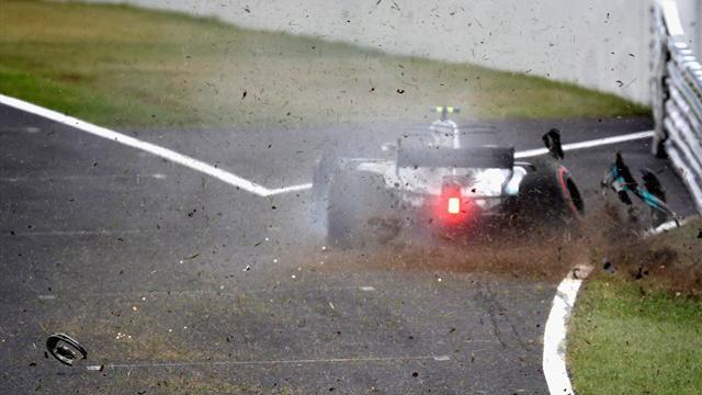 Libres 3 : Bottas fonce et tape, Räikkönen fait aussi des dégâts