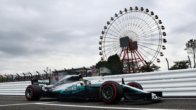 GP Japón 2017, calificación: Pole de otro planeta para Hamilton; Alonso y Sainz saldrán últimos