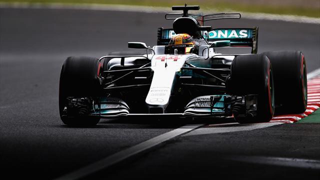 Hamilton tient sa première pole à Suzuka, Vettel partira à ses côtés