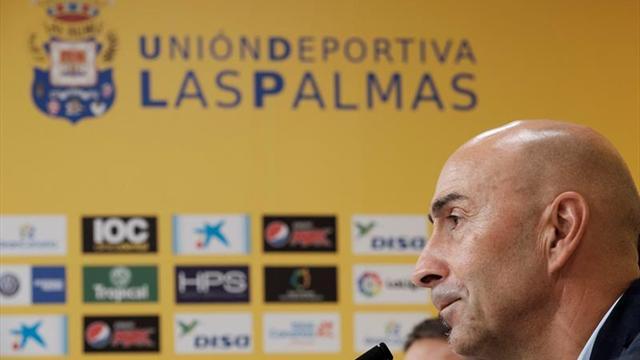 Pako Ayestarán completa su primera semana de trabajo con la UD Las Palmas