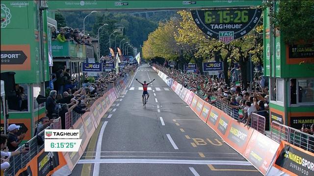 L'ultimo km del Giro di Lombardia: Vincenzo Nibali fa il vuoto per la sua 50^ vittoria in carriera