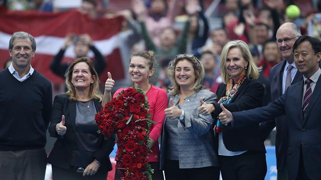 Halep new world number one after reaching Beijing final