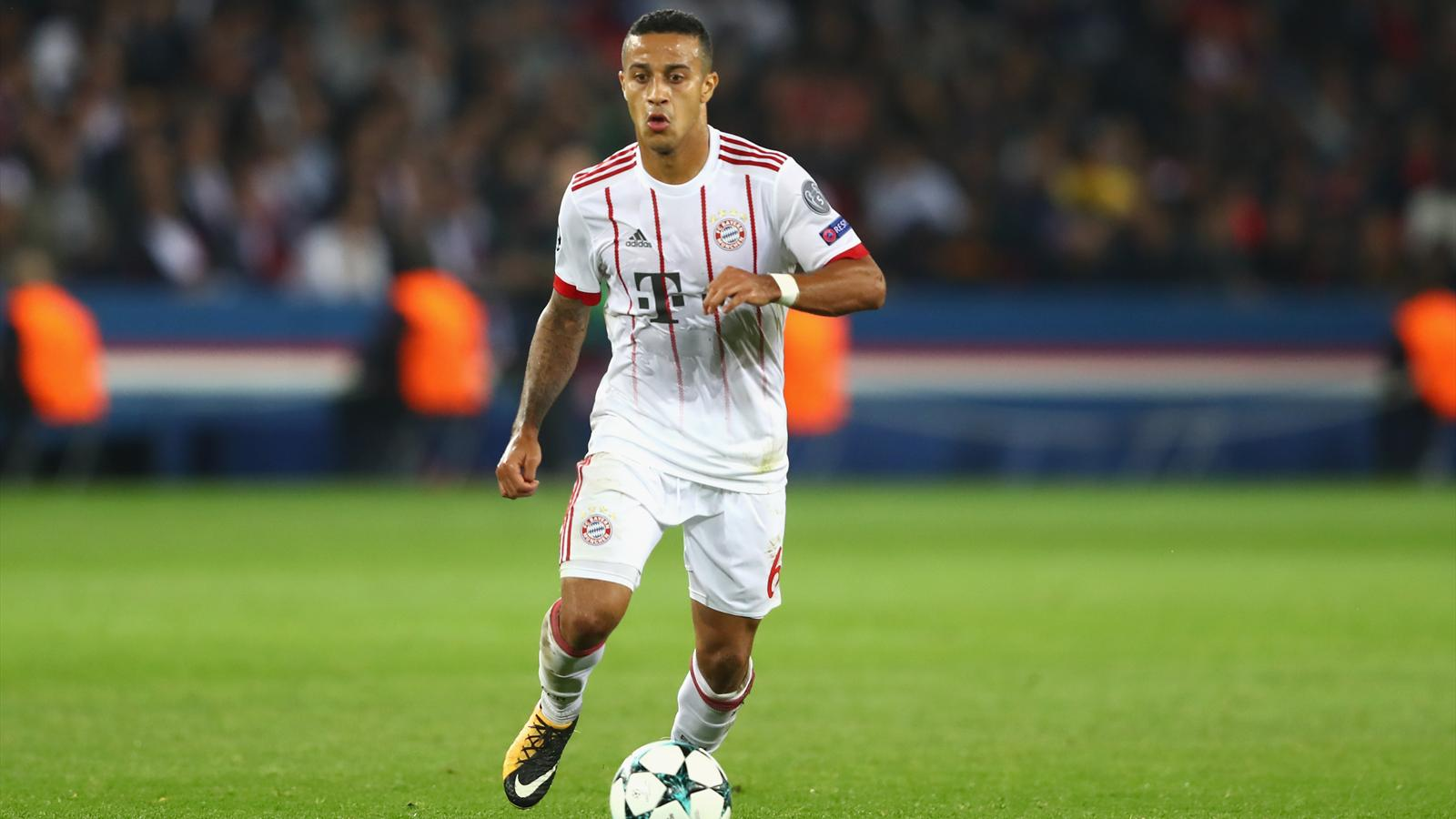 Espagne Bayern Entorse Pour Thiago Alcantara