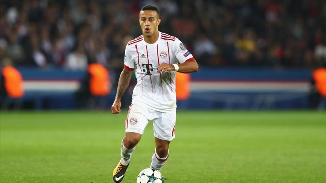 Une autre tuile pour le Bayern : Thiago Alcantara victime d'une entorse