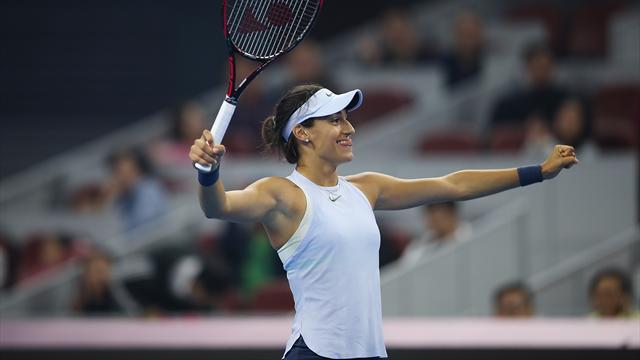 Caroline Garcia s'impose à Pékin et s'offre la n°1 mondiale Simona Halep