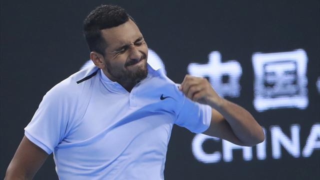 ATP Pekín (semis), Kyrgios-Zverev: El australiano se lleva el duelo de talentos (6-3 y 7-5)