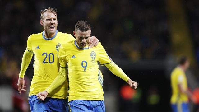 La Suède atomise le Luxembourg et reste dans le sillage des Bleus