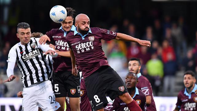 La Salernitana ringrazia Rosseti: l'anticipo con l'Ascoli finisce a reti bianche