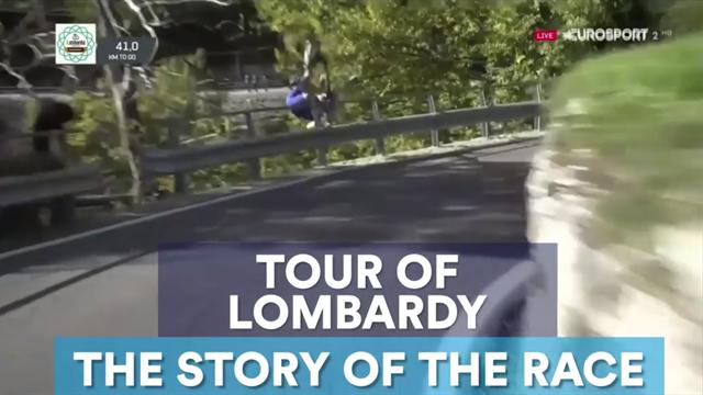 A terrifying crash, Nibali's brilliance: The Story of Il Lombardia