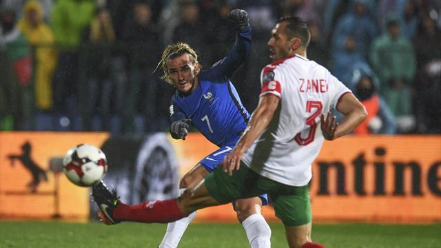 Clasificación Mundial 2018, Bulgaria-Francia: Matuidi evita un problema (0-1)