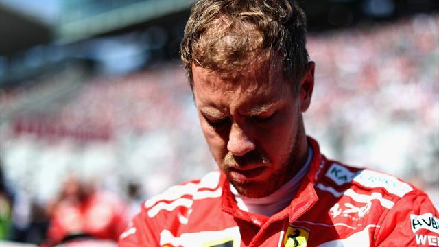 """Enttäuschung ist riesengroß"": Vettel am Boden, erster Matchball für Hamilton"