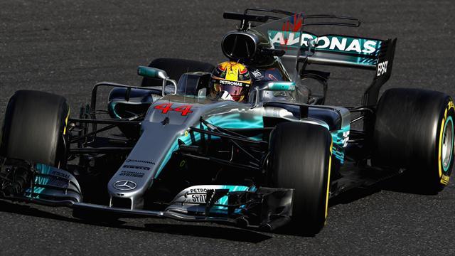 Vettel encore à l'arrêt, Hamilton fonce vers le titre