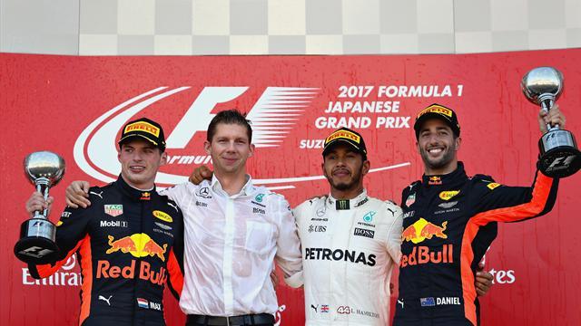 Remontada sin premio para Alonso en Suzuka y Hamilton acaricia su cuarto campeonato