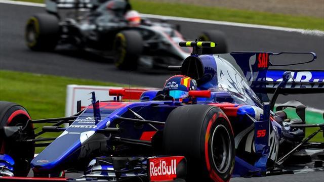 """Sainz: """"Quería hacer un buen trabajo en mi despedida de Toro Rosso"""""""