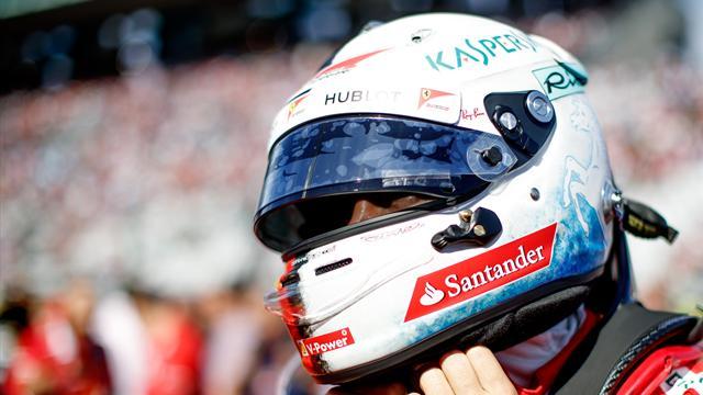 """Vettel: """"Non serve un genio per capire che il sogno mondiale è compromesso: testa agli ultimi 4 GP"""""""