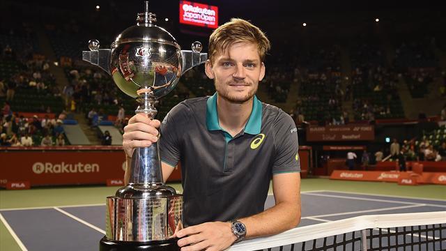 ATP Tokio: David Goffin, en plena forma, conquista el cuarto título de su carrera (3-6 y 5-7)