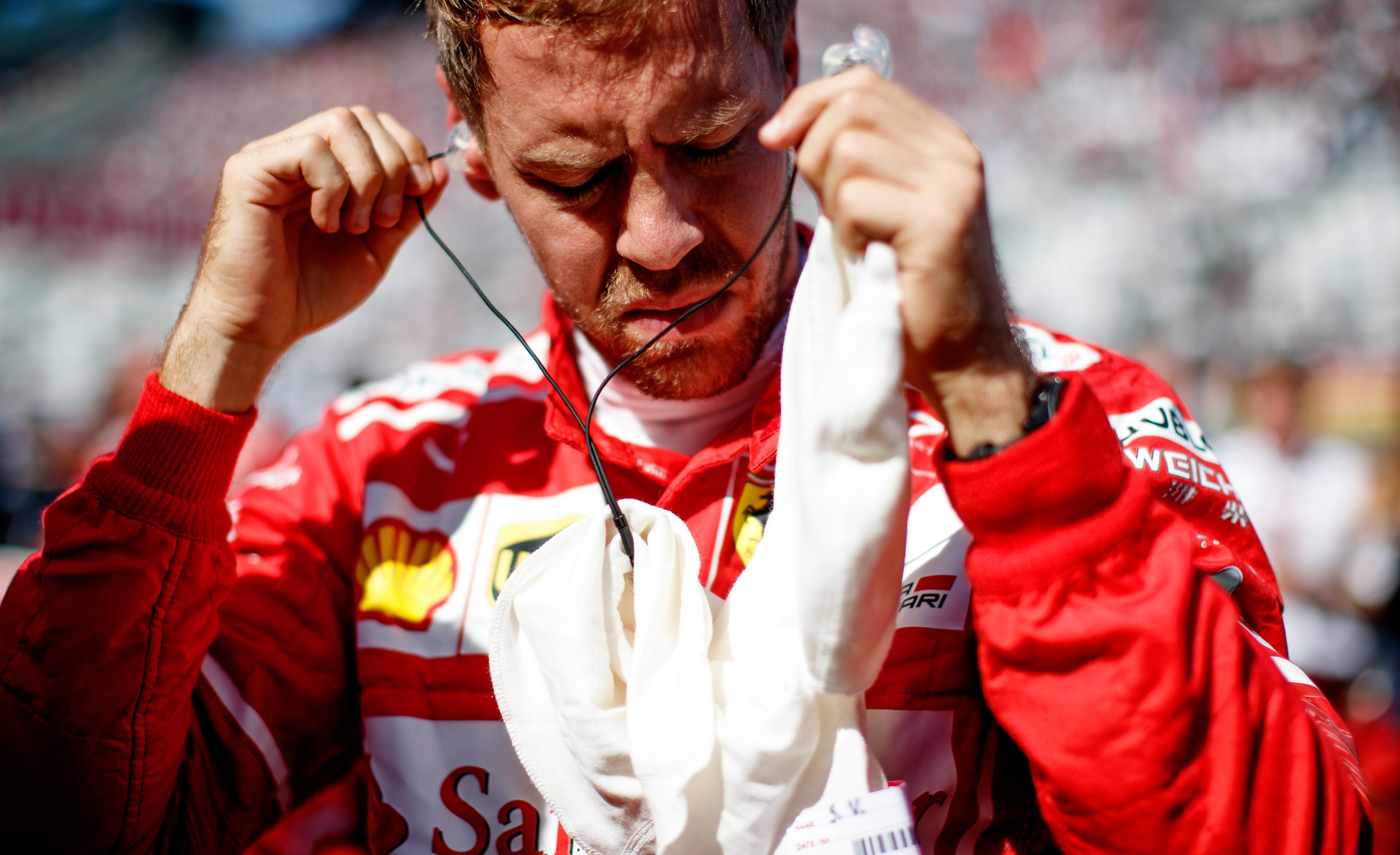 Sebastian Vettel (Ferrari) au Grand Prix du Japon 2017