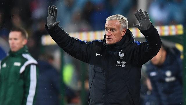 Дешам продлил контракт со сборной Франции до 2020 года