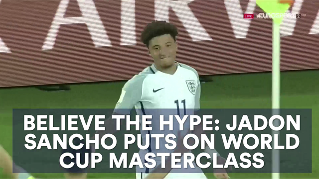 Believe the hype: Jadon Sancho puts on World Cup masterclass