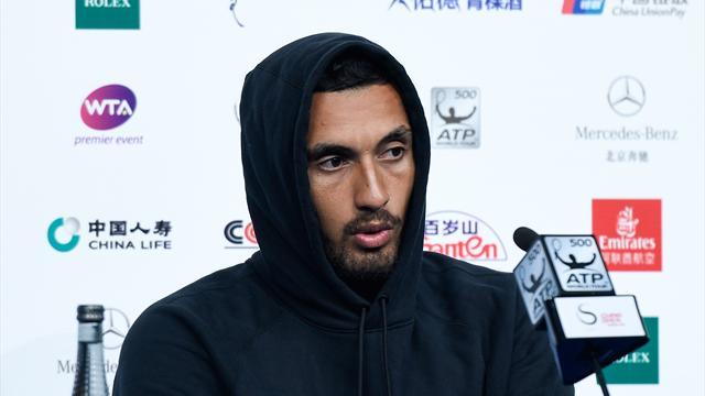 Кирьос: «Кого заботит поражение в теннисном матче после того, что случилось в Лас-Вегасе?»