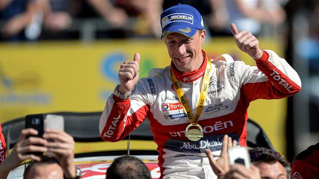 Meeke wins in Spain, Ogier closes in on title