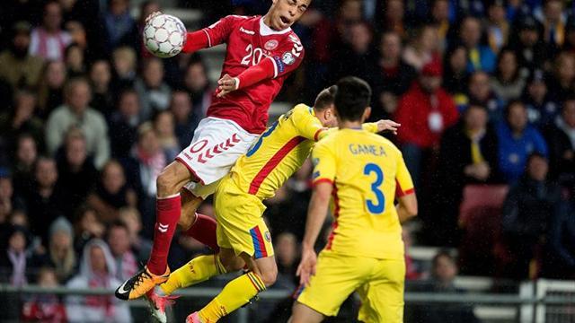 1-1. Dinamarca empata con Rumanía en casa y saca billete para la repesca