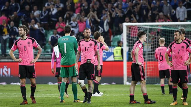 Scotland World Cup hopes ended by Slovenia
