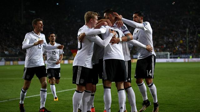 Germany's perfect 10 completed with win over Azerbaijan
