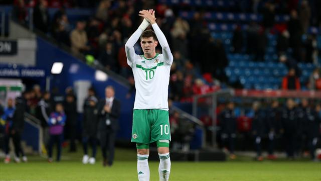 Northern Ireland bring back Lafferty for World Cup crunch with Swiss