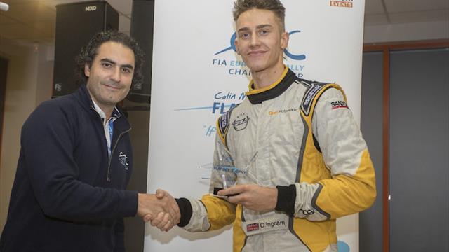ERC Junior U27 champion Ingram: Colin McRae was an absolute hero