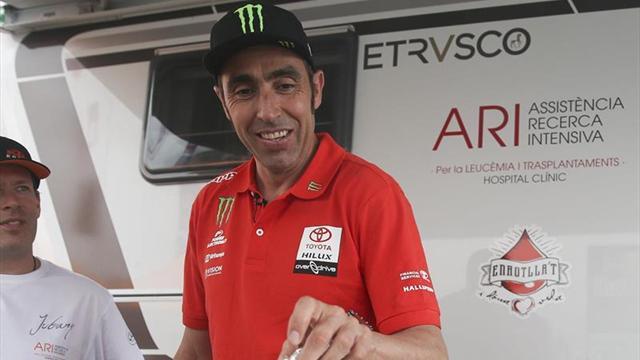 Terranova fue segundo en la etapa — Marruecos