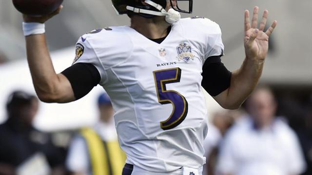 Los Ravens despiertan y sorprenden a los Raiders de visita