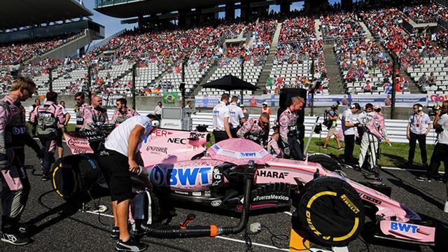 Décès d'un membre du personnel de Force India à Suzuka