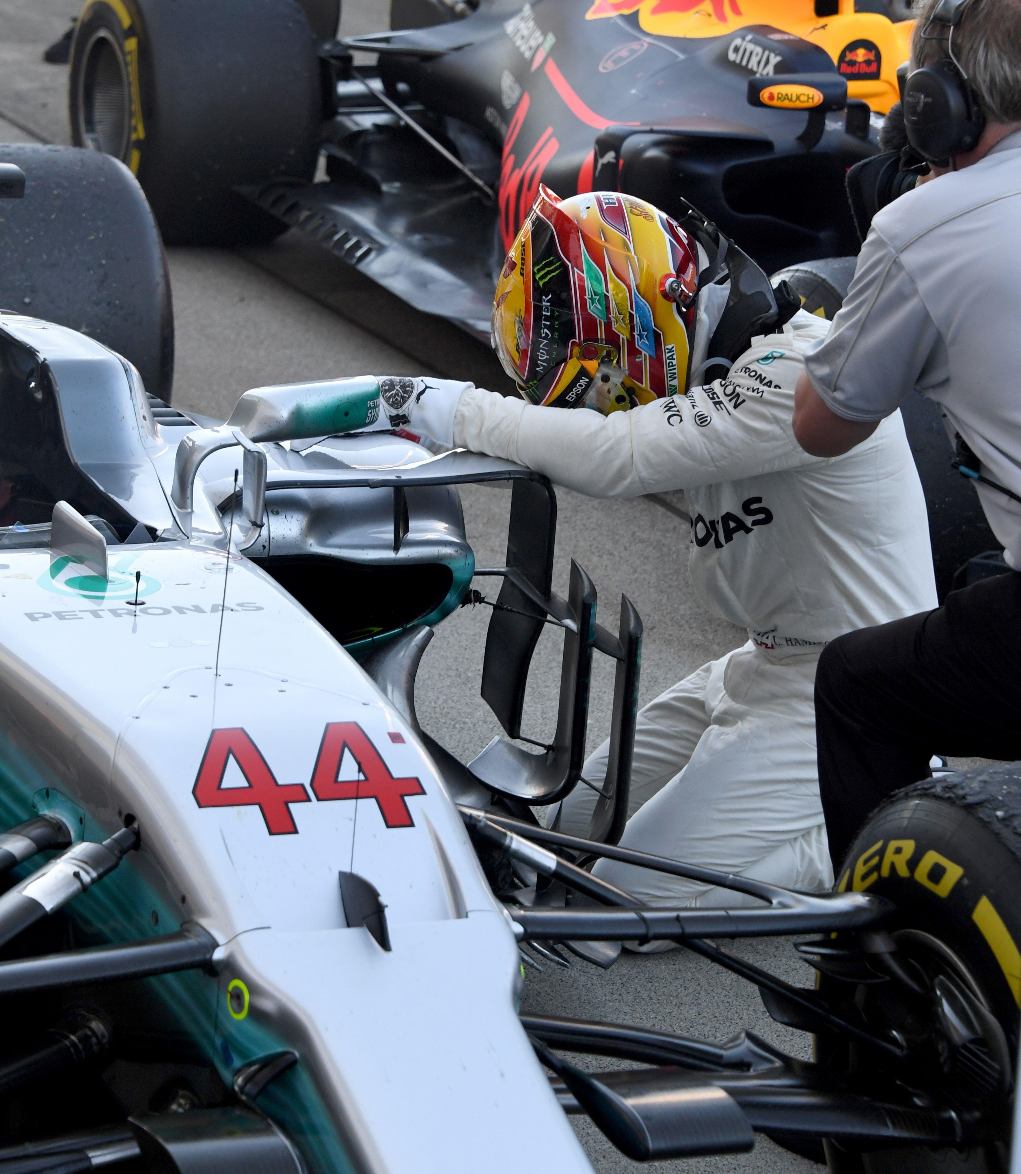 Lewis Hamilton (Mercedes) au Grand Prix du Japon 2017