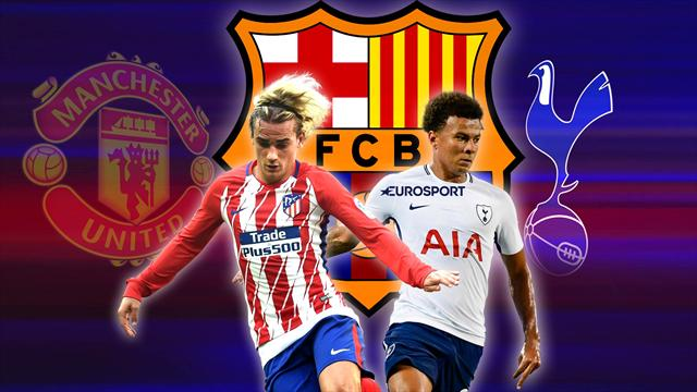 Euro Papers: Barcelona target Griezmann AND Alli for double swoop