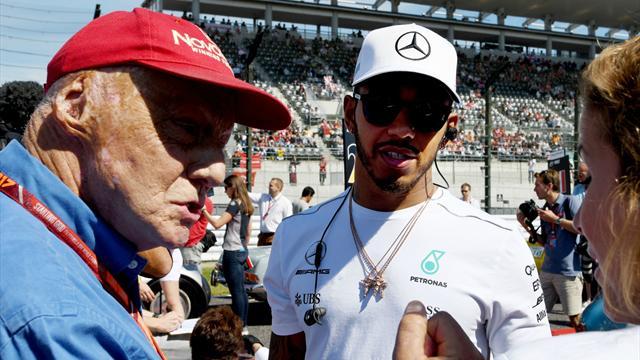 """Lauda : """"Hamilton et Rosberg ne se disaient même plus bonjour"""""""