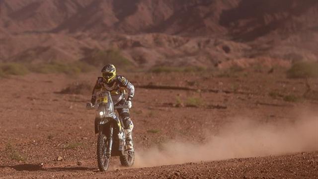 Pablo Quintanilla aumenta su ventaja en motos a falta de la última etapa