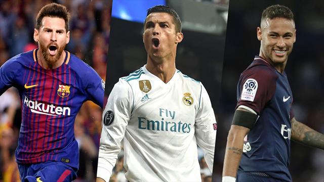 Weltfußballer-Wahl: Ronaldo setzt sich gegen Messi und Neymar durch