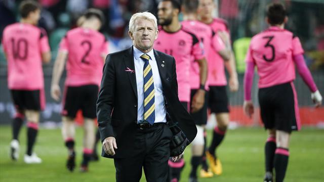 Nach WM-Aus: Schottland-Trainer Strachan entlassen