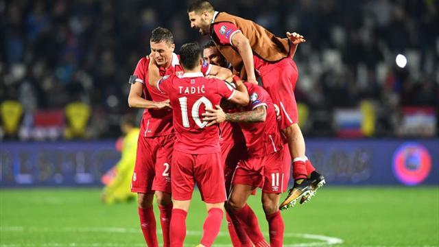 Serbia seal World Cup berth as Croatia reach play-offs.