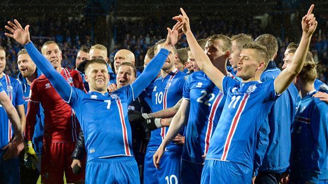 Première pour l'Islande, désillusion pour le pays de Galles